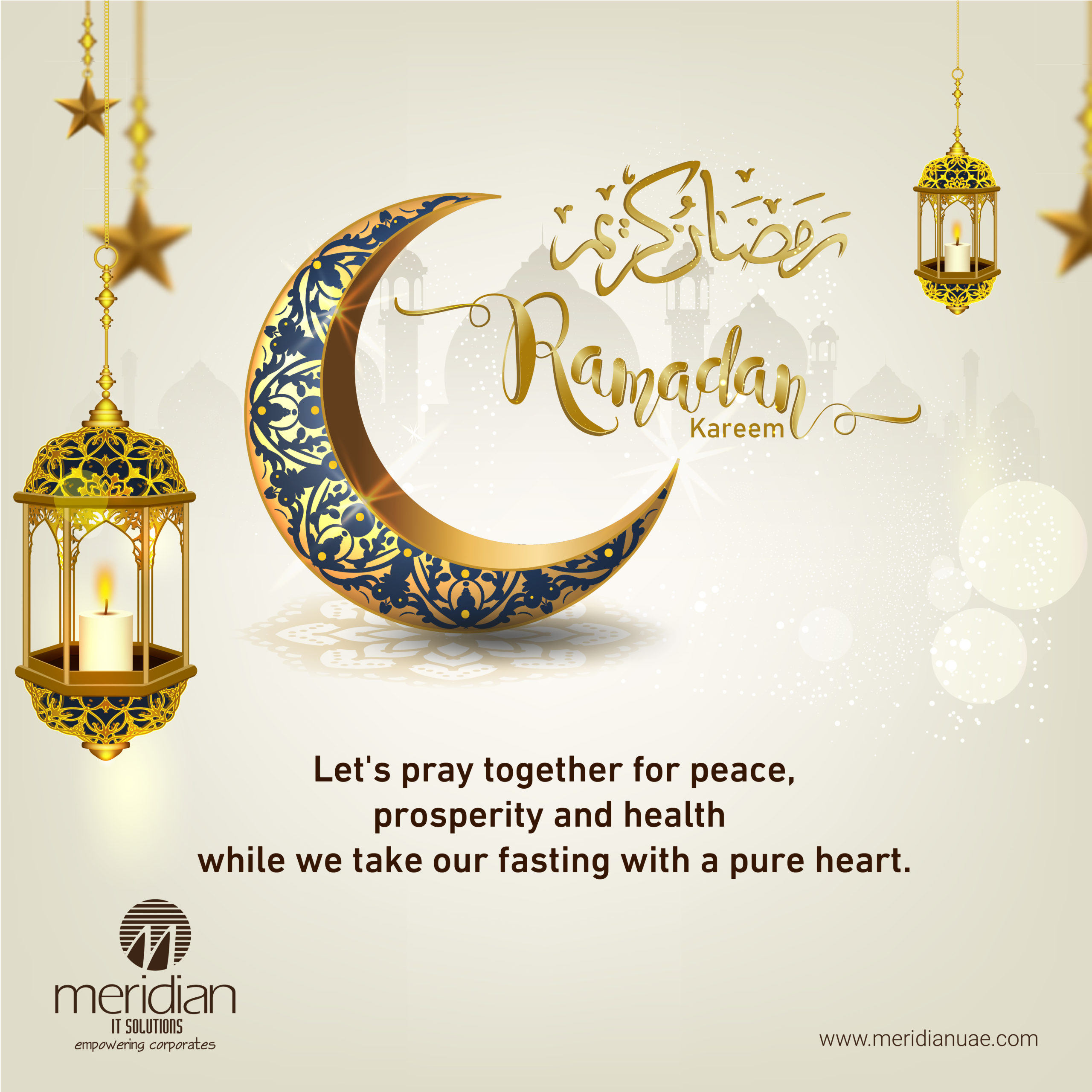2020 Ramadan Kareem wishes from Meridian IT Solutions